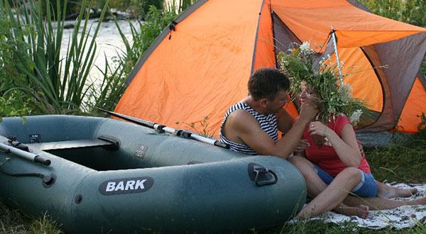 Выбор надувной лодки из ПВХ