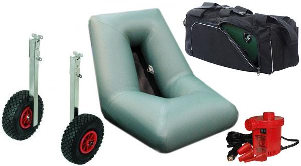 Аксессуары для гребных и моторных надувных лодок