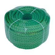 Веревка 6mm / 30m  универсальная, зеленая по лучшей цене - 159 грн