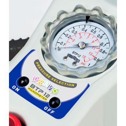 Двухступенчатый лодочный насос Bravo BTP 12 Manometer по лучшей цене - 3585 грн