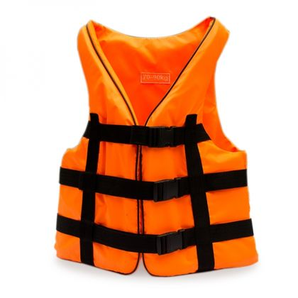 Жилет страховочный оранжевый 110-130 по лучшей цене - 450 грн
