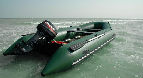 Надувные лодки BARK для отдыха на море