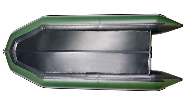 Достоинства надувных лодок с килем