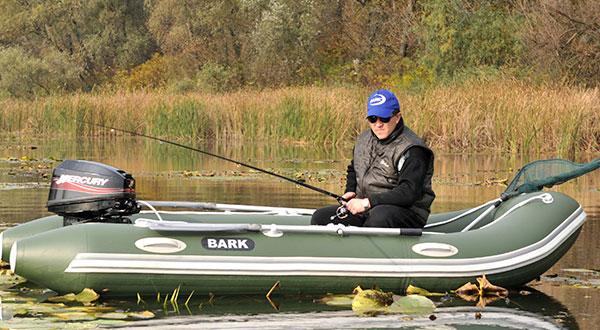 Качество надувной лодки для ловли рыбы