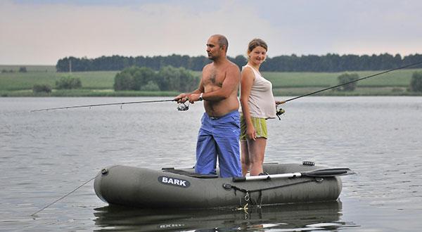 Надувная лодка для рыбалки - незаменимый аксессуар