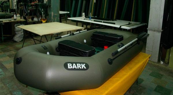 Как производятся надувные лодки Барк