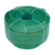 Веревка 6mm / 30m универсальная, зеленая по лучшей цене - 174 грн
