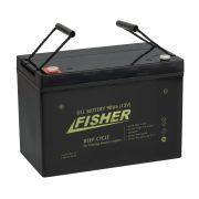 Гелевый аккумулятор 12V 90Ah Fisher по лучшей цене - 4675 грн