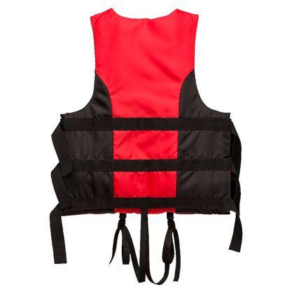 Жилет страховочный красно-черный 110-130 по лучшей цене - 580 грн