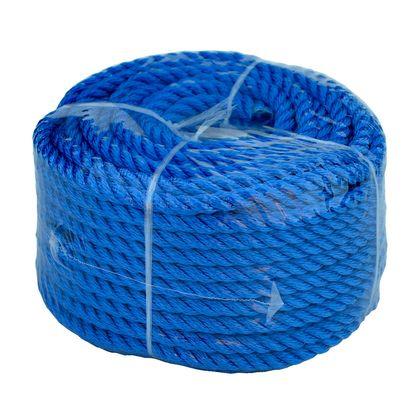 Веревка 10mm / 30m  универсальная, синяя по лучшей цене - 506 грн