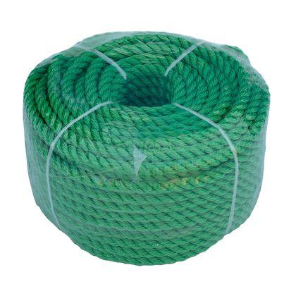 Веревка 6mm / 30m универсальная, зеленая по лучшей цене - 168 грн