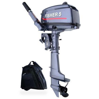 Лодочный мотор Fisher T5BMS по лучшей цене - 20133 грн