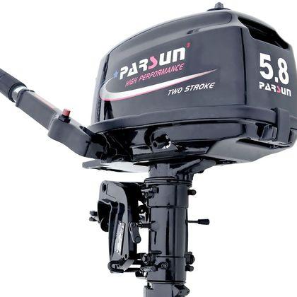 Лодочный мотор Parsun T5.8BMS + 9л бак по лучшей цене - 21399 грн