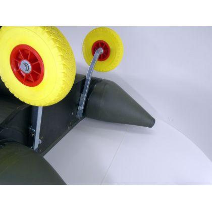 Транцевые колеса BVS КТ400 AVT Poly по лучшей цене - 1570 грн